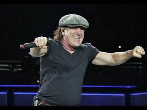 "AC/DC's Brian Johnson joined MUSE Aug 27 Reading Festival for ""Back In Black""!"