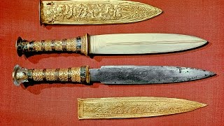 King Tut Owned A Dagger From Outer Space