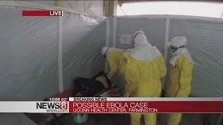Patient at Uconn Health Center isolated for possible Ebola infection