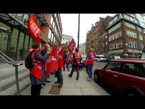 Unite the Union London Gateway recognition campaign