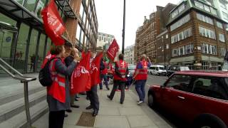 Unite the Union London Gateway recognition campaign