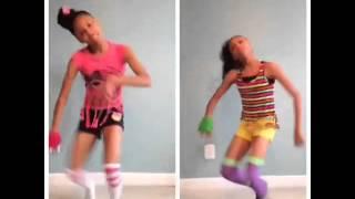 SUPA PEACH VS PEACHEZ ( DLOW SHUFFLE DANCE )