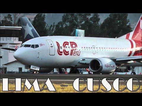 LC Perú vuelo Lima - Cusco / LC Perú flight Lima - Cusco