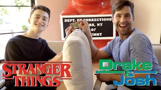 Download STRANGER THINGS Vs DRAKE AND JOSH!! Mp3 and Videos