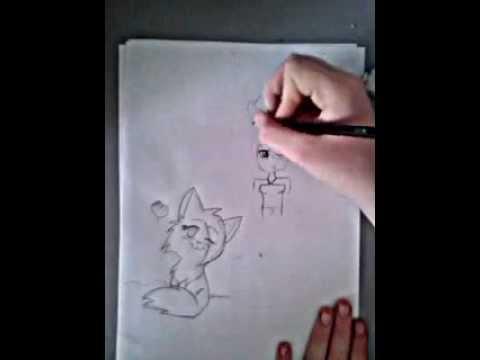 Dessin chat et manga youtube - Manga femme chat ...