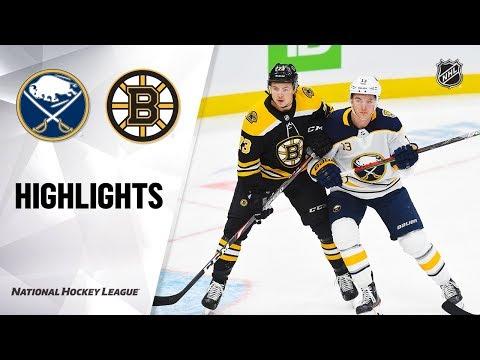 NHL Highlights | Sabres @ Bruins 11/21/19