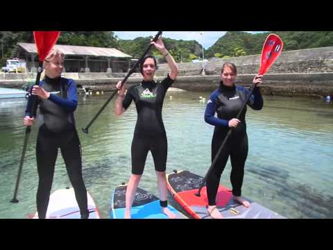 Katsuura Stand Up Paddle Board Tour 2015 Japan Chiba