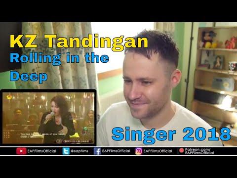 KZ Tandingan - Rolling in the Deep (China Singer 2018) | REACTION