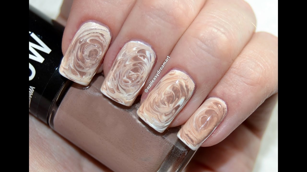 nail designs for fall 2014. fall nails art designs 2014 | diy starbucks coffee no water marble technique - youtube nail for d