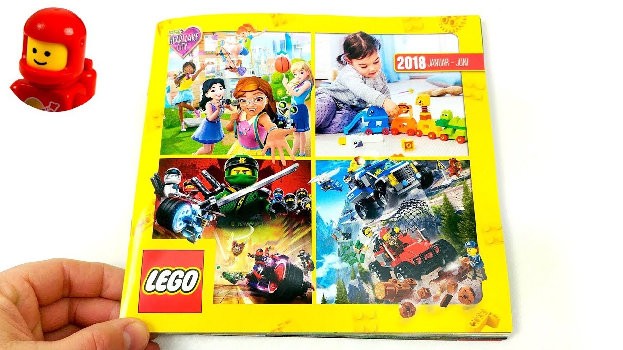 Complete Lego Catalog First Half Year 2018 German Version Youtube