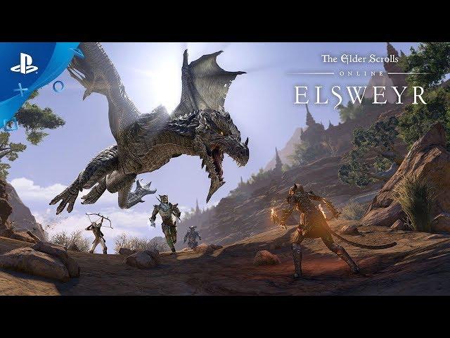 The Elder Scrolls Online: Elsweyr - Zone Trailer | PS4