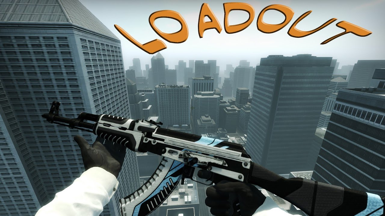 cs go how to make a loadout on spawn