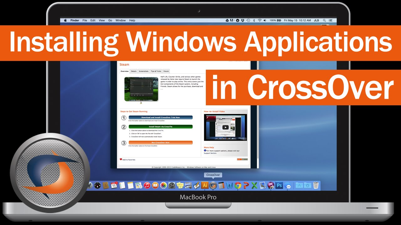 How to Install Windows Software on Your Mac Using CrossOver