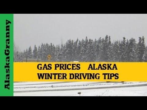 Price of Gas Alaska - Winter Driving Tips