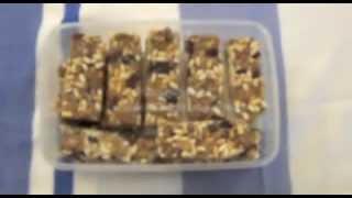 How To Make Chia Seed Muesli Bar Lunch Box Snack