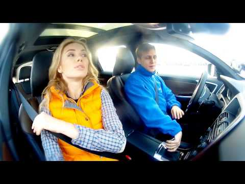 "Volvo XC60:Тест-драйв в программе ""Москва рулит""."