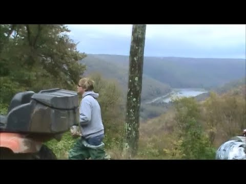 ATV RIDE POTTER COUNTY PA PT 2!!! SUSQUEHANNOCK STATE FOREST