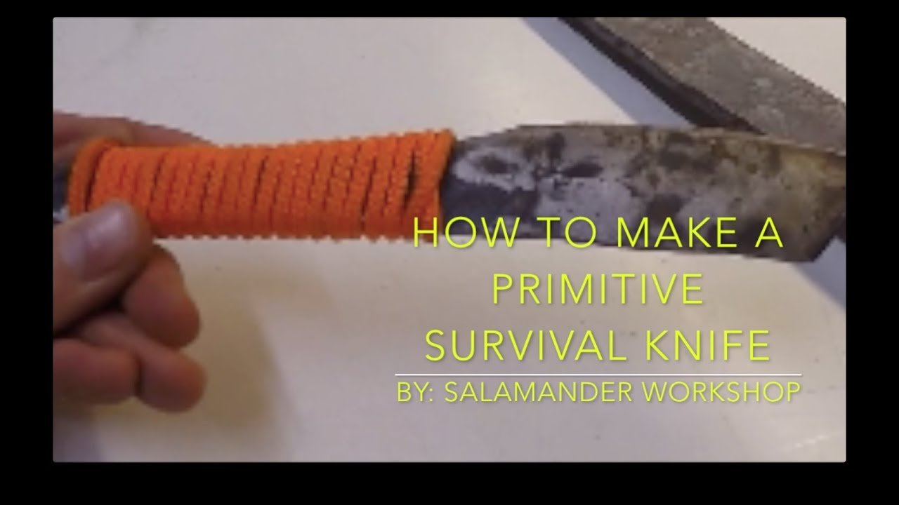 how to make a survival knife