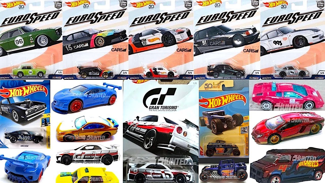 New Hot Wheels Euro Speed Series Gran Turismo Cars And More Youtube