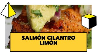SALMON AL CILANTRO Y LIMON | DELICIOSO, SALUDABLE Y FÁCIL DE PREPARAR | THE COOKING LAB