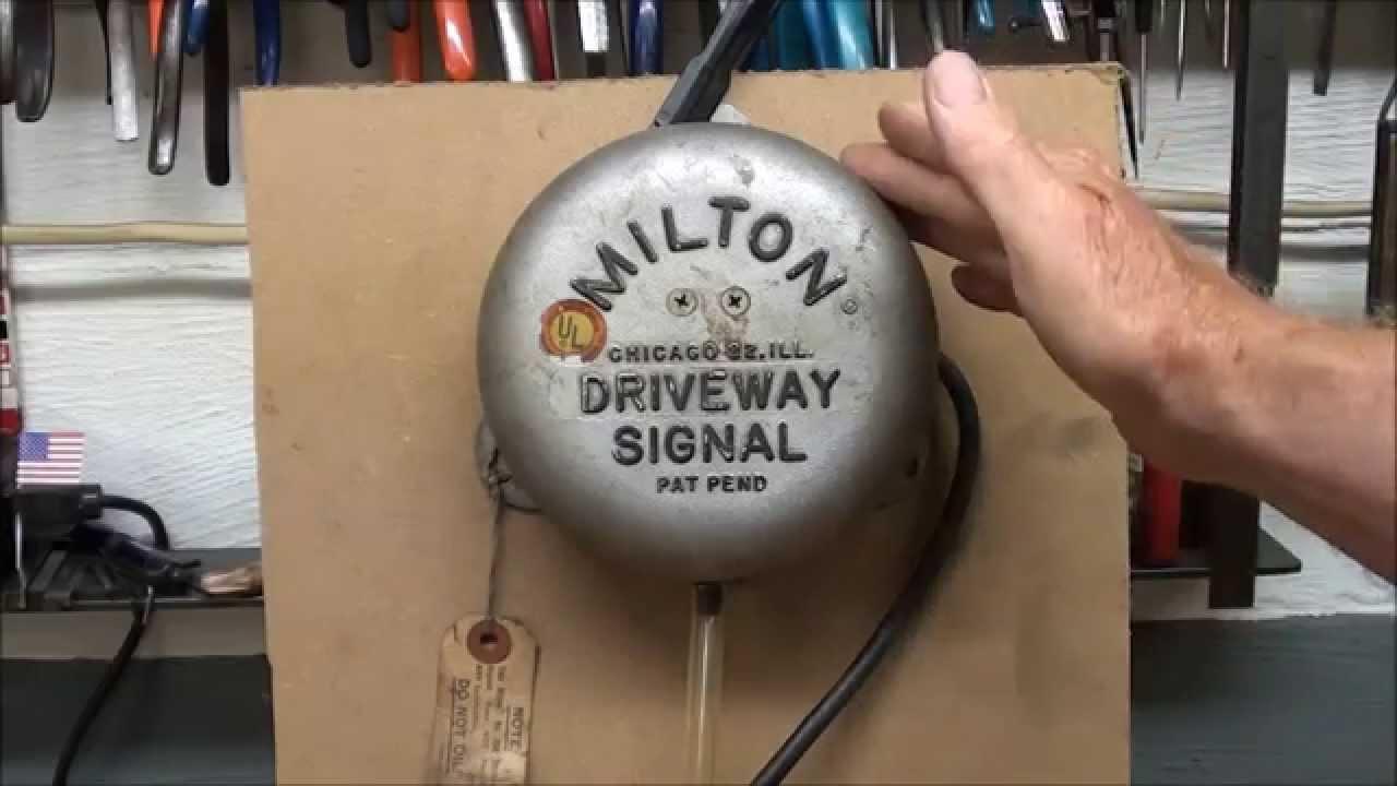 What Makes It Work 1 Milton Driveway Bell Tubalcain Mrpete222 How Does A Circuit Breaker Work1 Youtube