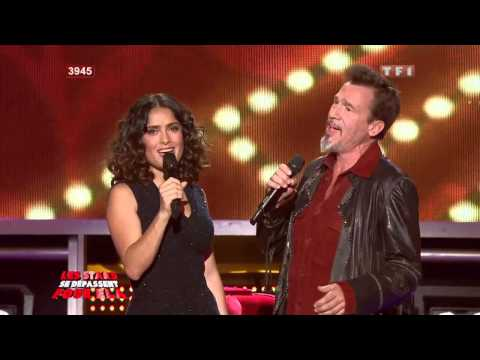 Salma Hayek Dancing tv Francesa