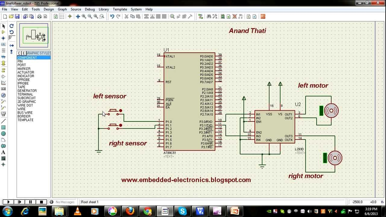 Line Follower Robot Using Microcontroller Wiring Diagrams Schematic 8051 Youtube Rh Com Pic Pdf