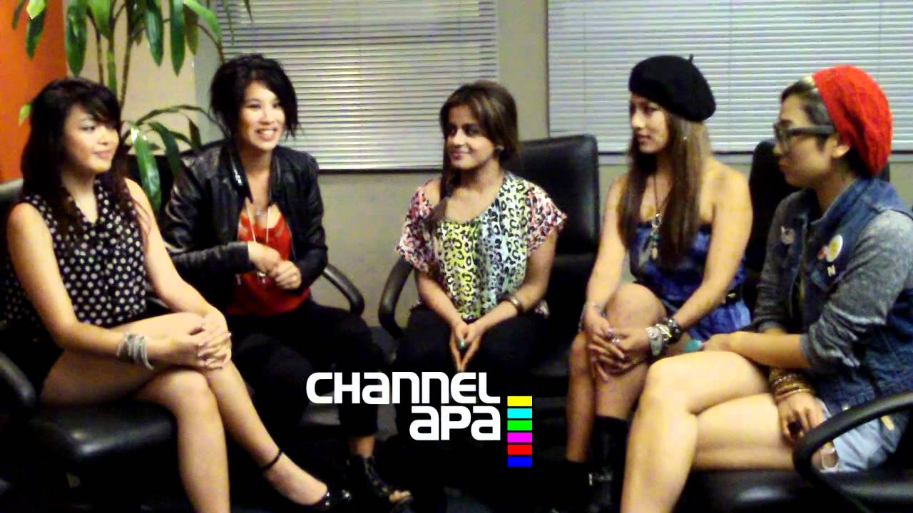 Asian girl gang bang video