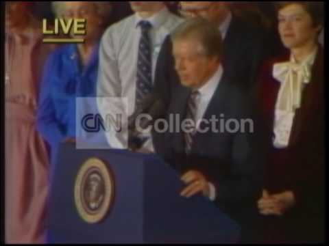 ELECTION 1980:JIMMY CARTER CONCESSION