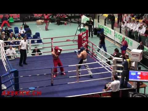 WAKO WC 2009: Finale Fullcontact -71kg: Kvatningen(NOR) Vs. Osobskiy(UKR)