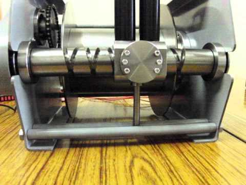 Winch With Spooling Device Youtube
