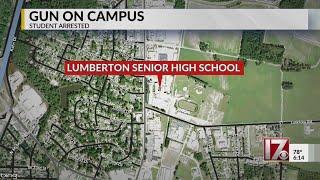 Gun found on campus at NC high school