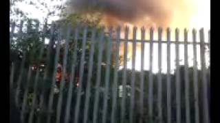 Fire in Stoke on Trent