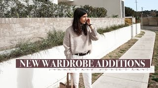 New Wardrobe Additions/Haul (June) - Winter and Summer Wardrobe Key Pieces | Mademoiselle