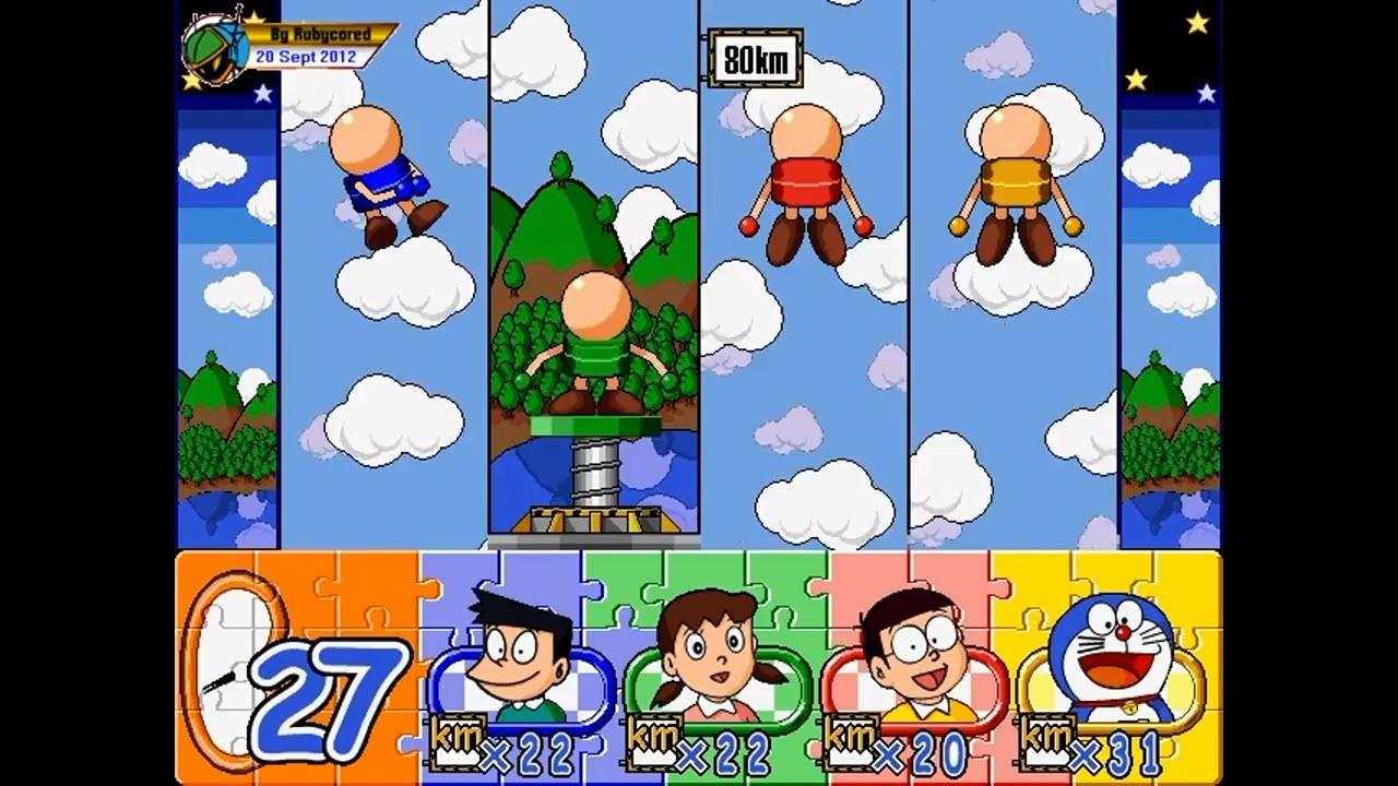 多啦A夢大富翁/Doraemon Monopoly (1998, PC) – All Minigames [zh-TW][720p50]