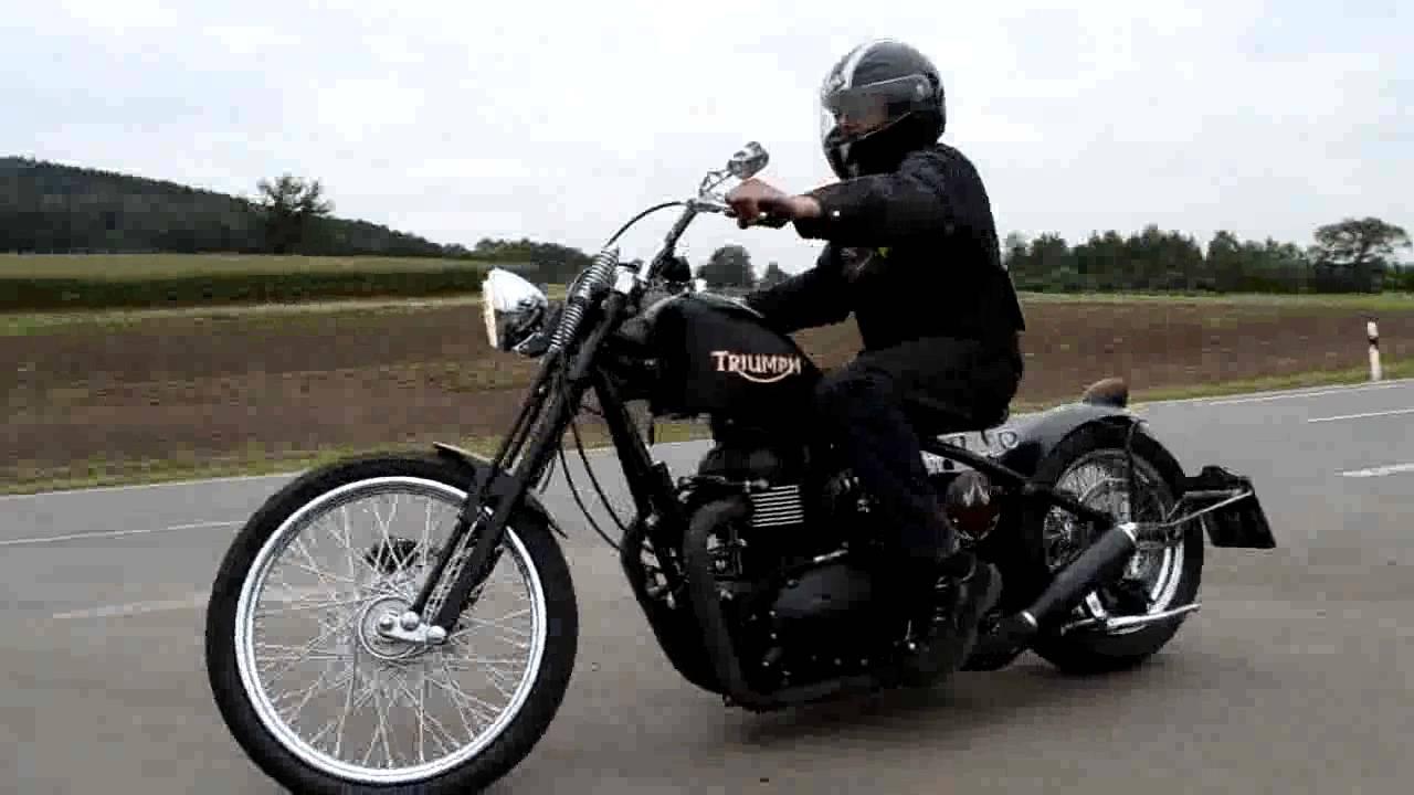 Triumph Bobber Hardtail Gietl Bikes Rahmenkit, Rolling Chassis ...