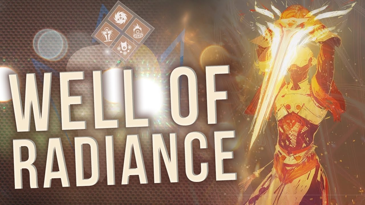 WELL OF RADIANCE - New Solar Warlock Subclass Guide! Destiny 2 Forsaken