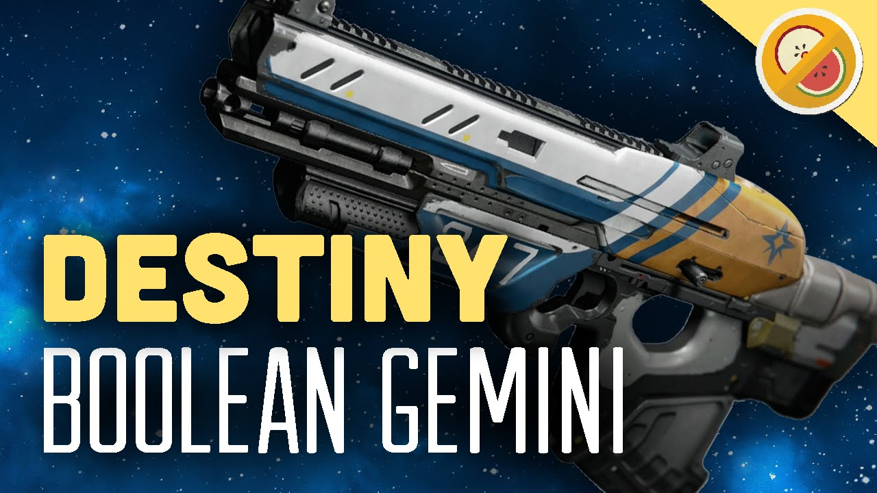 Destiny boolean gemini fully upgraded exotic scout rifle review the