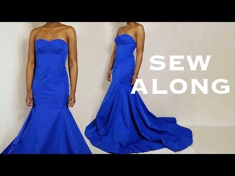 Mermaid Gown Sew Along Tutorial