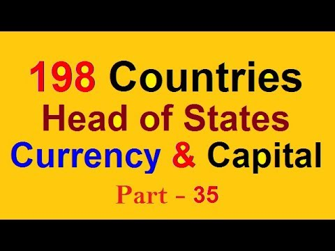 Currency Capital President and Prime Ministers | Solved Questions MCQs NTS CSS  PPSC FPSC