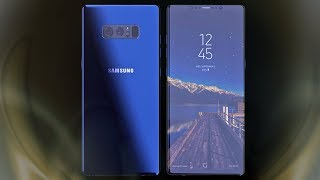 Samsung Galaxy Note 8 - DEEP SEA BLUE LOOK!!!