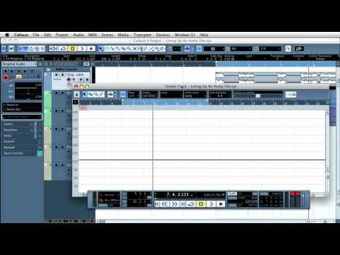 Importing An Audio File Into Cubase