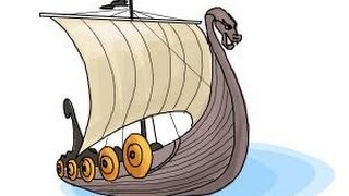 Repeat youtube video How to draw a Viking ship