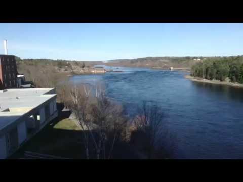 Penobscot River Timelapse Bangor Maine