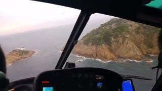 Crazy Helicopter ride in St Tropez