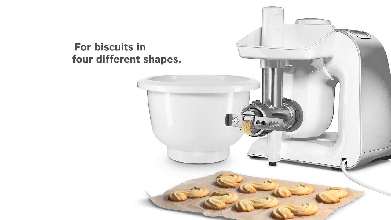 bosch kitchen machine mum 5 the baking sensation lifestyle accessory set youtube. Black Bedroom Furniture Sets. Home Design Ideas