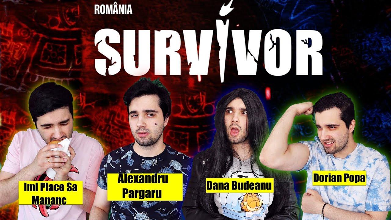 VLOGGERII LA SURVIVOR ROMANIA 2021 ! (Parodie)