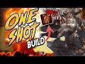 Smite: Rangda's Mask ONE SHOT ODIN BUILD - THEY GET DESTROYED WITH THIS BUILD!