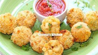 Air Fried Mac & Cheese Balls Video Recipe | Bhavna