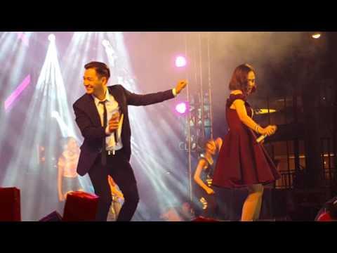 Miu Lê tỏ tình Ngô Kiến Huy gây sốc trên sân khấu